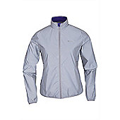Force Womens Reflective Jacket - Silver