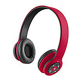 HMDX XS15 Jam Transit B/T 10M Wireless Headphones Red