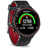 Forerunner 235 with Wrist Based HRM Black and Red - Garmin
