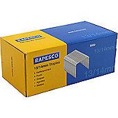 Rapesco Staples 14mm 13/14mm Pack of 5000