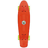 Osprey Retro Plastic Skateboard Red