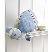 Mamas & Papas Turtle Soft Chime Toy - Blue