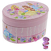 Fantasy Princess Oval Musical Jewellery Box - for Girls