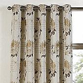 Julian Charles Clara Linen Eyelet Jacquard Curtain -168x183cm