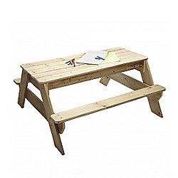 TP Deluxe Picnic Table Sandpit