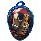 Avengers Iron Man Head Shaped Junior Backpack