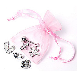 Baby Lucky Keepsake Charms - Pink