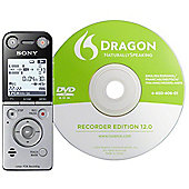 Sony ICDSX733D 4GB Voice Rec +Dragon Software