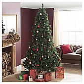 Festive Princess Green Pine Christmas Tree, 8ft