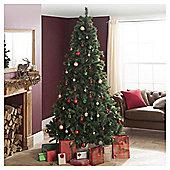 Festive 2.40M (8Ft) Princess Green Pine Tree