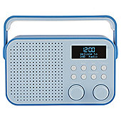 Tesco DR1404B DAB Radio Blue