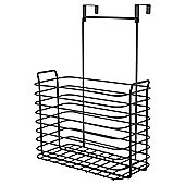 Tesco Black Shower Screen Caddy