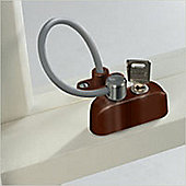 Jackloc Window and Door Restrictor Brown