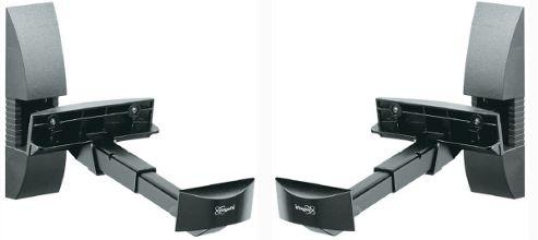 Vogels VLB 200 Loudspeaker Wall Support (Black)