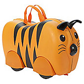 Kiddee Case Kid's Ride On Suitcase, Tiger