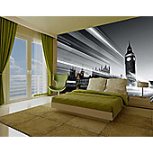 1Wall Giant London Big Ben Wall Mural