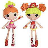 Lalaloopsy Workshop Double Pack - Ballerina and Cowgirl