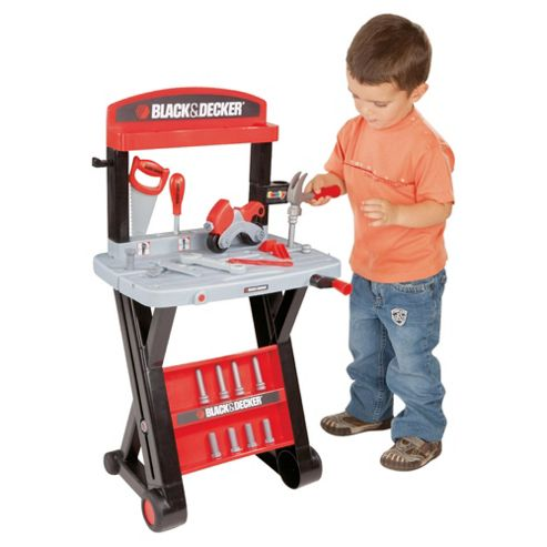 black and decker toy workbench assembly instructions