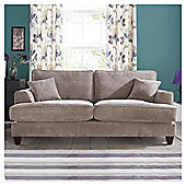 Kensington Fabric Large Sofa Grey