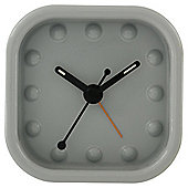 Acctim Zak Aquare Alarm Grey Clock