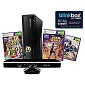 Xbox 360 4GB Console and Kinect Value Bundle