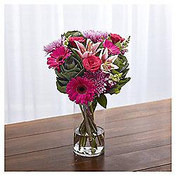 Autumn Lily & Brassica Bouquet