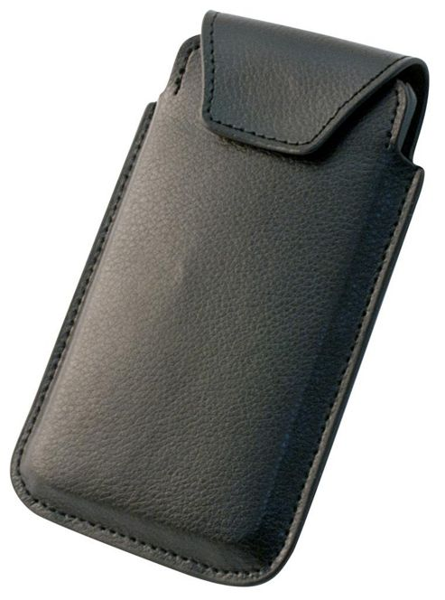 Tortoise™ Genuine Leather Slip Case Universal Large Black