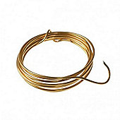 Aluminium Wire - 2.0mm - 2mt - Gold