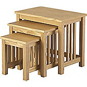 Ashmore Nest of Tables Ash Veneer