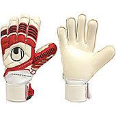 Uhlsport Eliminator Soft Supportframe Junior Goalkeeper Gloves - White