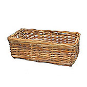 Wicker Valley Lacak Rattan Rectangular Basket
