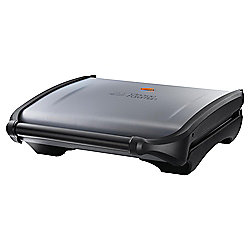 George Foreman 19330 7 Portion Grill - Black and Silver
