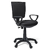 Hispanohogar Office Chair - Black