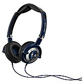 Skullcandy Lowrider Overhead Headphones - Navy/Chrome