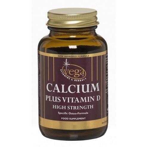 Vega Calcium + Vitamin D 30 Caplets