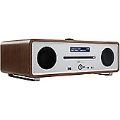 RUARK AUDIO R4i CD DAB/DAB+/FM RADIO WITH iPOD DOCK (WALNUT)