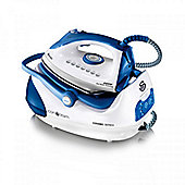 Swan Products 2400W Steam Generator Iron in White/Blue