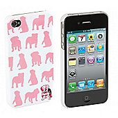 iPhone 4 and iPhone 4s Case Bulldog Print