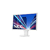 NEC Displays MultiSync EA223WM (22 inch) WLED Monitor 1000:1 250cd/m2 1680x1050 5ms DisplayPort/DVI-D (White)