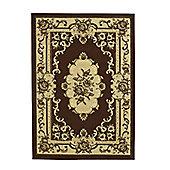 Oriental Carpets & Rugs Marakesh Brown Rug - 270cm L x 180cm W