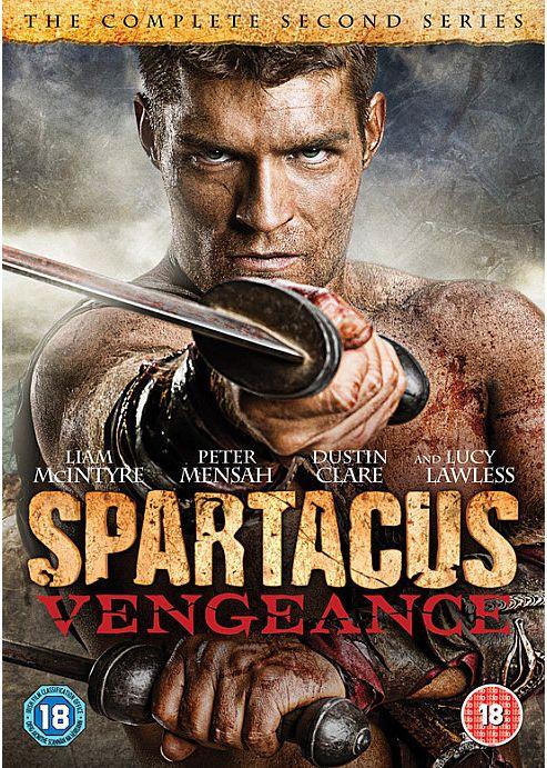 Spartacus - Vengeance (DVD Boxset)