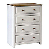 Home Essence Capri 4 Drawer Chest