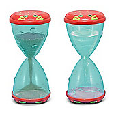 Clicker Crab Hourglass Sifter Funnel - Melissa and Doug