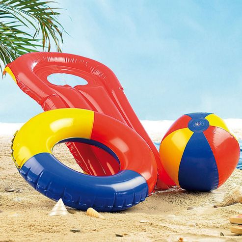 Buy pool set 3 piece from our water toys range tesco for Garden pool tesco