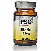 FSC Biotin Tablets 2.5mg
