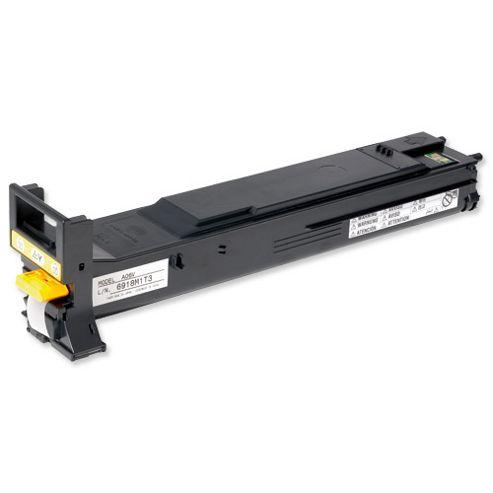 Konica Minolta Magicolor 5550/5570 Yellow Toner Cartridge Yield 12,000