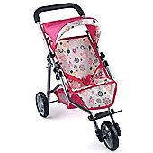 Dolls World 3 Wheel Stroller