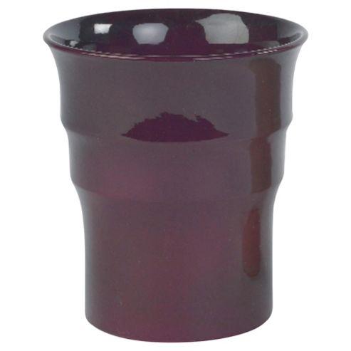 buy ivyline plant pot textured plum from our vases bowls. Black Bedroom Furniture Sets. Home Design Ideas