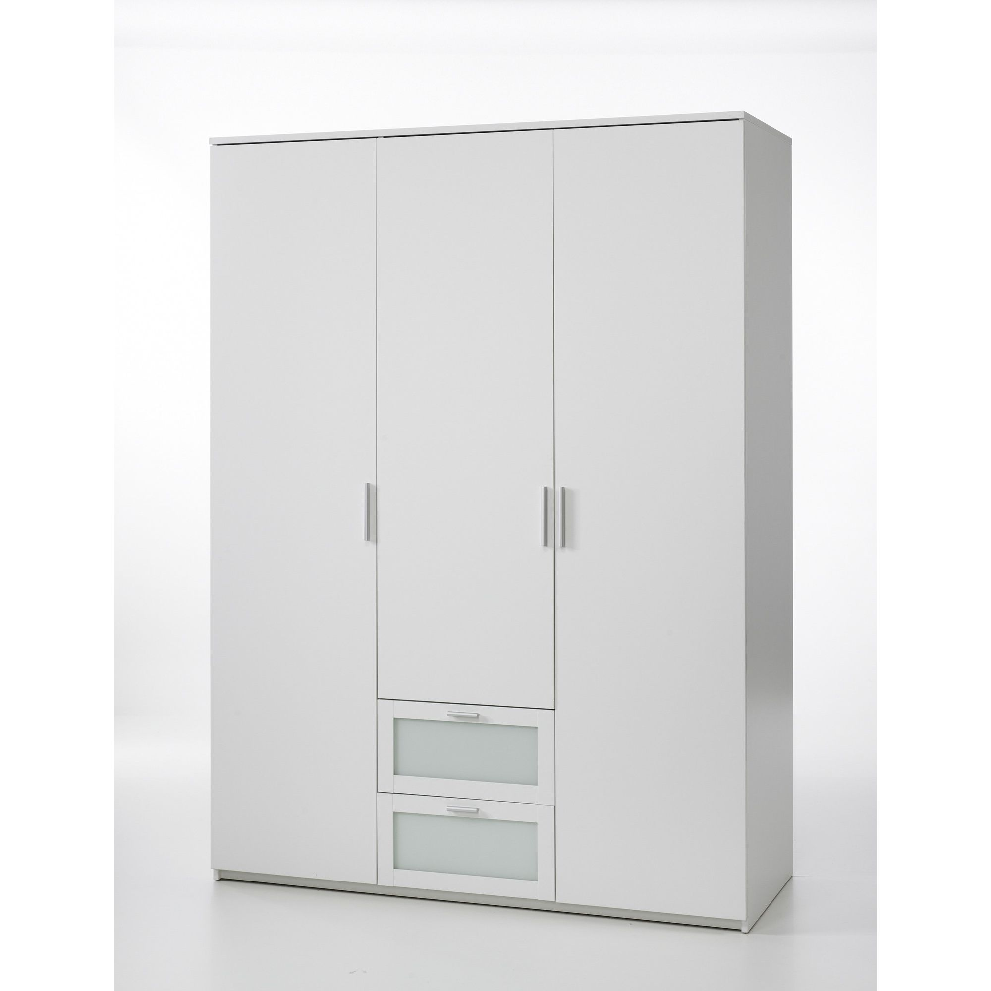 Tvilum New York Three Door Wardrobe in White at Tesco Direct
