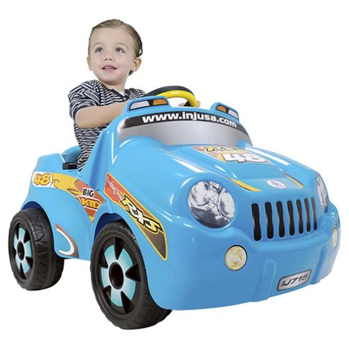 Injusa Big Kid Car Battery Operated Ride-On